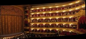 Teatro Bolshoi, em Moscou, Rússia